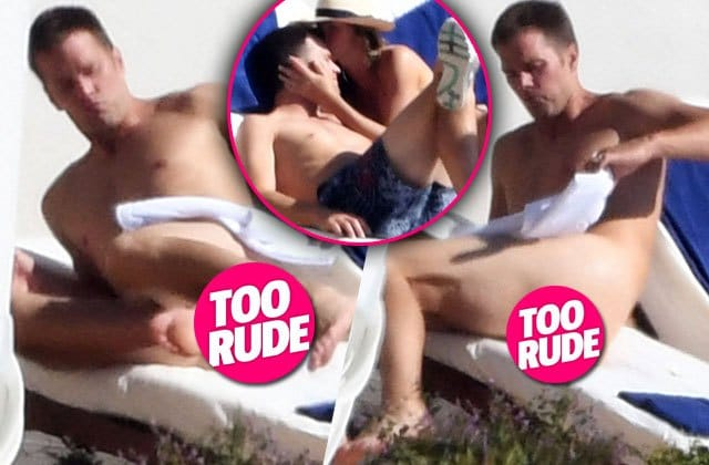 Tom Brady Nude Sunbathing in Italy After Conspiring To Deflate Balls! image