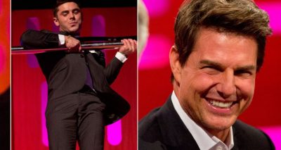 TOM CRUISE Thinks Zac Efron's Pole-Dancing is 'Perfect'