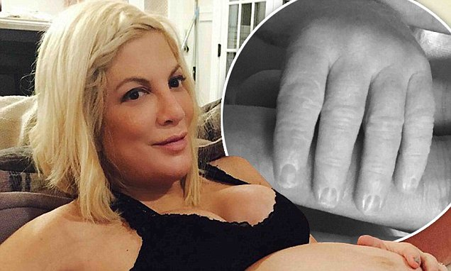 Tori Spelling Gives Birth to 5th BABY Boy! image
