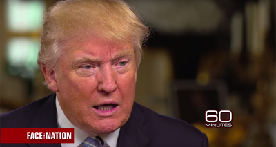 "OMG: Donald Trump Calls Hillary Clinton ""Very Strong & Very Smart"" in 60 Minutes Interview"