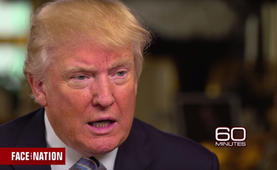 """OMG: Donald Trump Calls Hillary Clinton """"Very Strong & Very Smart"""" in 60 Minutes Interview"""