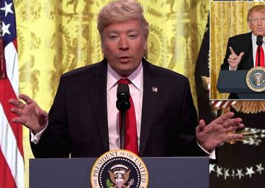 Jimmy Fallon Plays Donald Trump During His FIRST Press Conference
