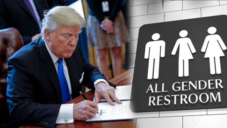 Trump Admin Removes Transgender Rights Protection and CELEBS ARE FURIOUS!