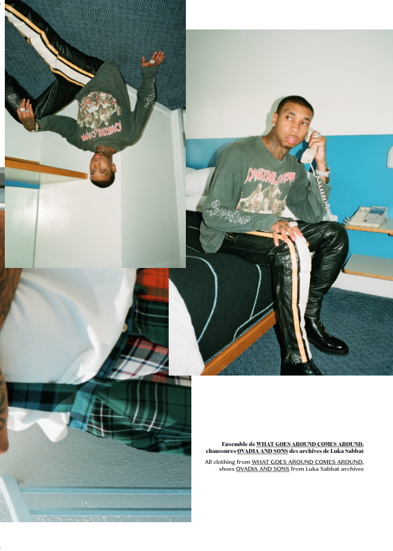 Tyga For DULL Magazine, Despite Facing Barrage of Financial Issues