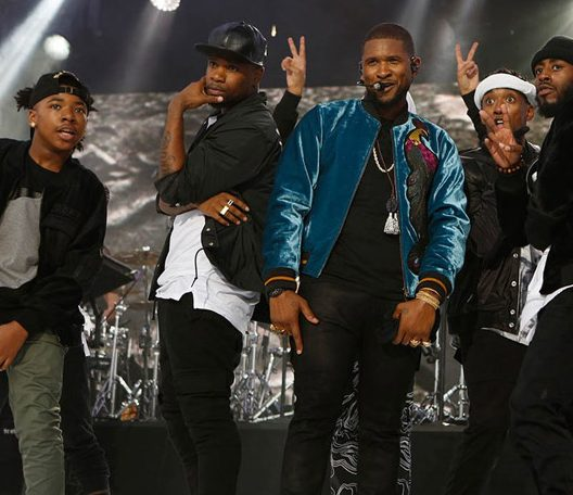 Usher Has NO LIMIT on 'Jimmy Kimmel Live' image