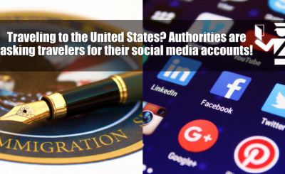 The US Government is Now Asking Visa Applicants For Social Media ACCOUNTS!