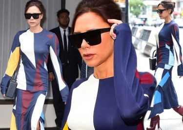 CHILD LABOR: Victoria Beckham Forces 13-Year-Old Son Sing to Her