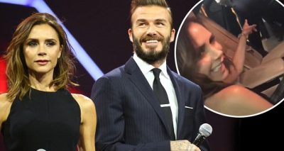 """Are the Cameras ON?"" David and Victoria Beckham Make Rare Public Appearance Together in China!"