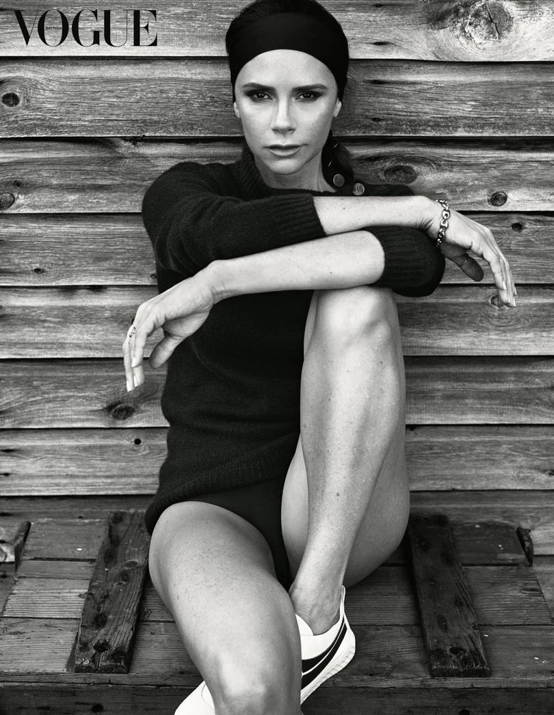 Victoria Beckham Covers British Vogue WITHOUT DAVID BECKHAM image