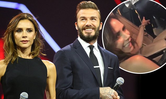 """Are the Cameras ON?"" David and Victoria Beckham Make Rare Public Appearance Together in China! image"