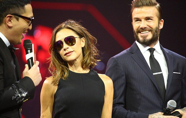 Are the Cameras ON? David and Victoria Beckham Make Rare Public Appearance Together in China!