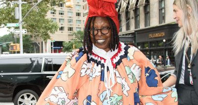 WHOOPI Goldberg is a High-Fashion Fashionista @ Thom Browne Lunch
