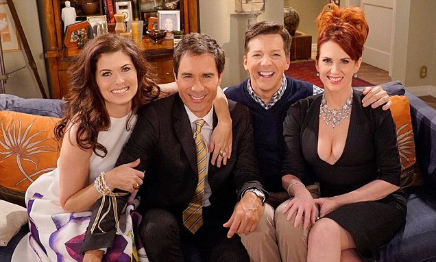 WILL AND GRACE RETURNING TO TELEVISION ON NBC! OH HAPPY DAY image