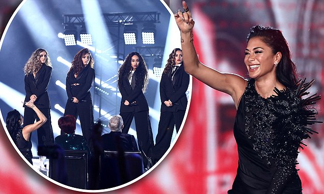 LITTLE MIX Perform 'Power' on X Factor UK! image