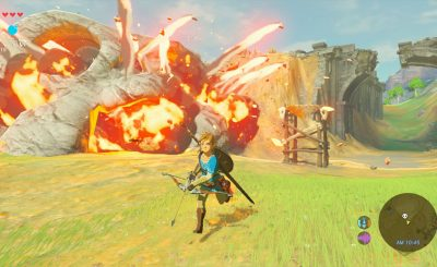 'Legend Of Zelda: Breath Of the Wild' 30-Minute GAMEPLAY