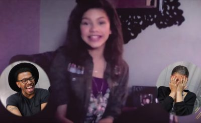 Zendaya ALMOST CRIES While Watching Old Videos Of Herself!