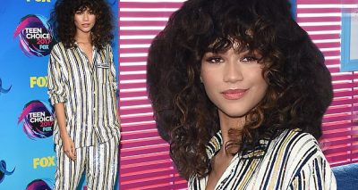 ZENDAYA Wants Young People to Be Educated @ Teen Choice Awards